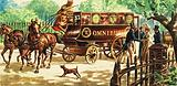 London's first horse-drawn buses
