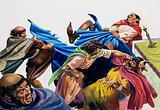 Religious brawl