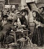 Eighteenth-century pawnbroker