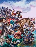 The Duke of Monmouth at the Battle of Sedgemoor