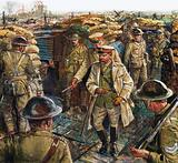 King George V visiting the troops fighting in France