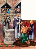 Royal baptism