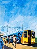 Class 313 suburban electric train