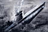 Sunken submarine