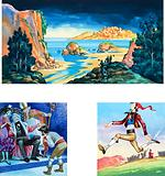 Illustrations for Michael and the Mighty Men