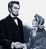 Abraham Lincoln meeting Harriet Beecher Stowe