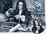 Sir Isaac Newton, English physicist, mathematician and astronomer