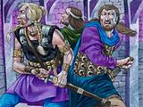 Galahad, Percivale and Bors