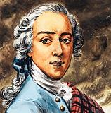 Bonnie Prince Charlie, leader of the Jacobite Rising of 1745