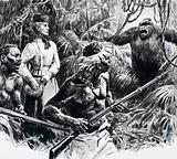 The explorer Mary Kingsley in Africa