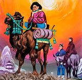 Asian Man on a Camel