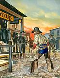 Shoot out in the Wild West