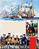 Scrapbook of the British Sailor: Unequal Contest