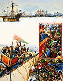 Scrapbook of the British Sailor: Slaughter at Sluys