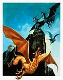 The Legend of Gudrun: Hagen Slays the Griffin