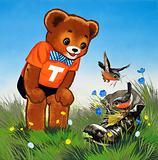 Teddy Bear (with hidden objects)
