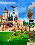 The History of Our Wonderful World: The First Olympic Games