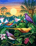 Tropical Sunbirds