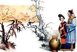 The Riddle. Chinese court magician turns a prince into a vase.