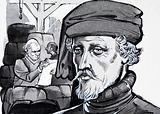Unidentified portrait of merchant