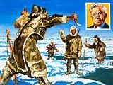 Vilhjalmar Stefansson and the Eskimoes