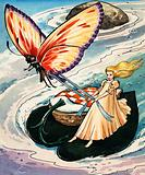 Thumbelina, fairy tale by Hans Christian Andersen