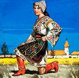 Traditional costume of Ukraine