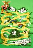 Brer Rabbit puzzle page