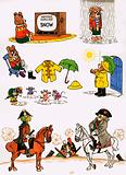 Unidentified cartoons