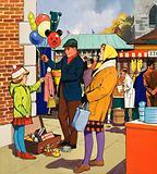 Baloon salesman
