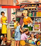 Toy shop assistant