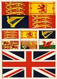 Some flags of Great Britain