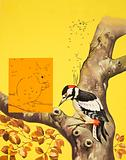 Woodpecker puzzle page