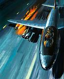 Men and Machines: Nightmare in a Blazing Bomber!