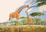 Nature Wonderland: High Tea for the Giraffe