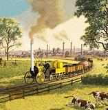 The Industrial Revolution: the coming of the railways to Britain, 1830s