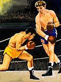 Boxing: Alan Rudkin vs. Musahiko Harada in 1965
