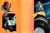 Two space disasters: Apollo 13 and Skylab