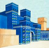 The Iahtar Gate at Babylon