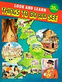 Montage of images set around map of Great Britain