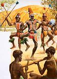 Aborigine dance