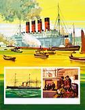 Unidentified passenger liner