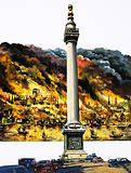 The Great Fire of London and The Monument