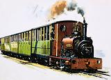 The World of Speed and Power: a Hunslet 0-4-0 saddle tank called Dolbadarn