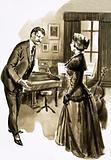 One of Edward Elgar's pupils was attactive Caroline Alice Roberts
