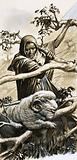 The shepherds of Bethlahem had to rescue their sheep when they became trapped