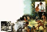 The Brazilian authorities began to make contact with the fierce Chavante Indians
