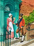 Cash on Delivery! The first British postal service.