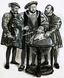 Henry VIII agrees to plans to sail to China by a north-east passage