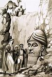 Austen Layard and the statue of Nimrod